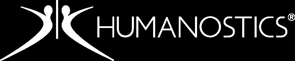 Humanostics white logo