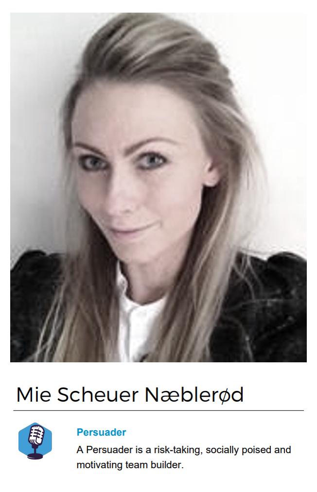 Mie Scheuer Næblerød