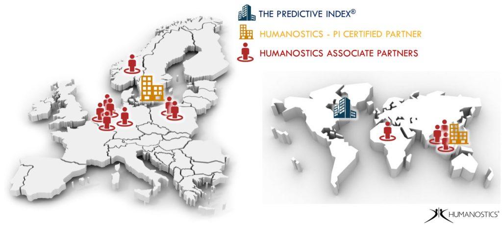 Humanostics global presence The Predictive Index PI Certified partner