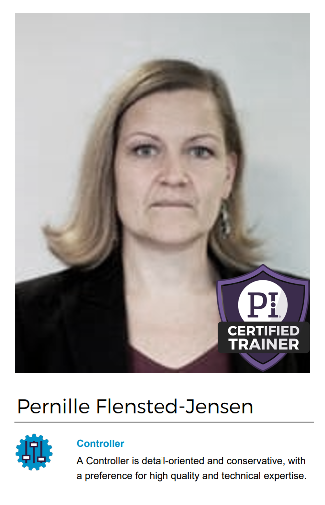 Pernille Flensted-Jensen - PI Certified Trainer