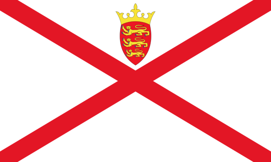 Flag of Jersey Channel Islands