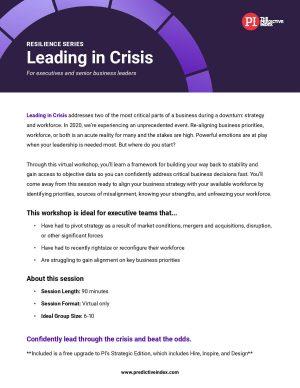 Leading in Crisis workshop