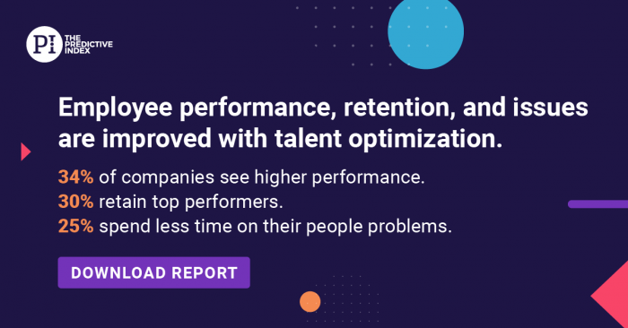 State of Talent Optimization Report Graphic - Performance Improved