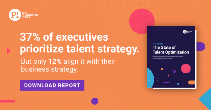 State of Talent Optimization Report Graphic - Talent Strategy Prioritized