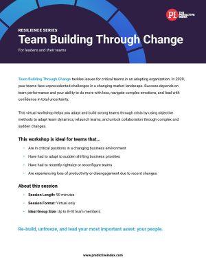 Team Building Through Change Workshop